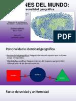 6. Personalidad geográfica