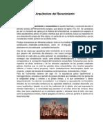 Arquitectura Del Renacimiento - Para Combinar