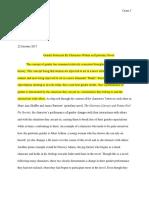 project text portfolio draft