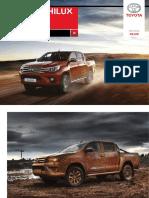 2016 Toyota Hilux Dpl Es