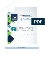 Programa Oficial - Peu 2017