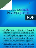 ROLUL FAMILIEI