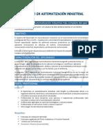 Diplomado Automatizaci�n Industrial Marzo 2018