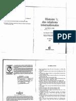 Duroselle-histoire Des Relations Internationales-1919 1945