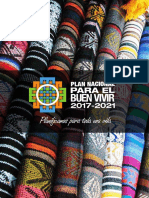 Plan Nacional Para El Buen Vivir 2017 2021 (ECUADOR)
