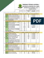 DITRIBUTIVO Y HORARIOS DE LA FCI Periodo Lectivo 2017 - 2018 Segundo 05102017 ÚLTIMO-1