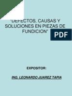 Defectos de Fundicion22