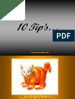 10 Tips Para Ser Feliz