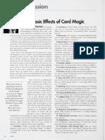 Genii Magazine - Genii Session 2006 - List of Basic Effects of Card Magic.pdf