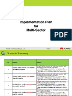 Implementation Plan for Multi Sector Antenna-0326