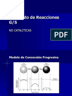 Modelado de Reacciones G