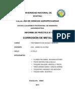 Corrosión de Metales