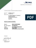 Yachaq - Nuevo Datos Bancarios Usd