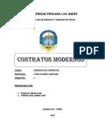 Monografia de Contratos Modernos