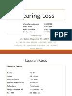 Laporan Kasus Hearing Loss