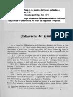 ALDEANUEVA DEL CAMINO en las Relaciones Topográficas de los Pueblos de España,  hechas por orden de Felipe II en 1574