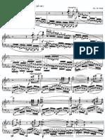 Chopin - Revolutionary Etude (piano sheet)