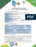 Guia de Actividades y Rúbrica de Evaluación - Caso 8. Evaluación Final