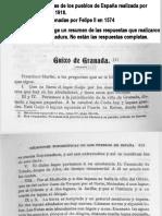 GUIJO DE GRANADILLA en las Relaciones Topográficas de los Pueblos de España,  hechas por orden de Felipe II en 1574