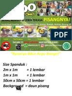 Desain Kepo Chips Aan (2m x 1m), (1m x 1m) & (50cm x 50cm)