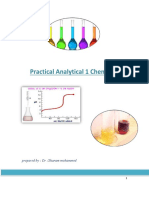Practical Analytical 1 ,,Chemistry