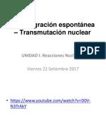 Trasmutacion Nuclear Fisica
