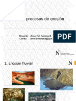 Agentes de Proceso de Erosion