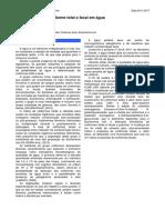 R3 - Colifórmio Fecal