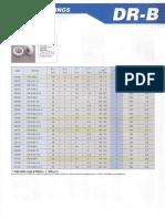 D-serie Bearings DR-B All Types 2 3