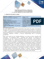 Syllabus Del Curso