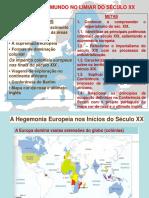 A Hegemonia Europeia