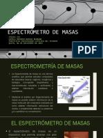 Presentación Espectrometro de Masas