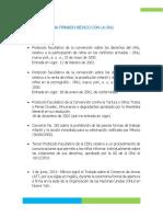 Tratados Que Ha Firmado Mexico Con La Onu, Oit