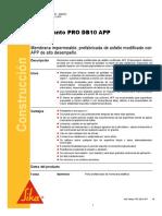 Manto Asfaltico Alta Resistencia Sika Manto Pro Db10 App
