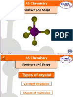 2.3 Shapes of Molecules and Ions