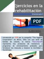 Ejercicios de rehabilitación