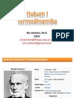 Hukum I Dan II Termodinamika