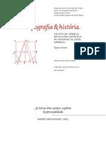 Tipografia & História - Naieni Ferraz