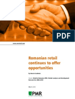 Romanian Retail Continues to Offer Opportunities [1]