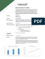 shelter funding fact sheet