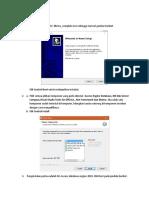 Manual Instal Dbxtra
