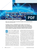 Intrusion detection for grid and cloud computing