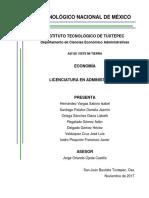 Tecnológico Nacional de México- Economía Empresarial