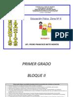 BLOQUE II Secuencias Didacticas Educ. Fiìsica
