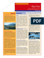 Kilca Peru Travel News (Setiembre 2002)