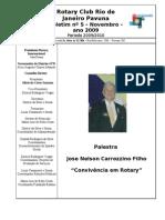 BOLETIM ROTARY PAVUNA 2009-10 nº 5 NOVEMBRO 2009