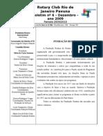 BOLETIM ROTARY PAVUNA 2009-10 nº 6 DEZEMBRO 2009