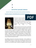 Leonardo Da Vinci - Pensador Sistémico