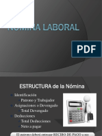 NÓMINA LABORAL 2017 VE