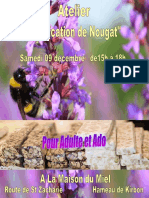 Atelier de Fabrication de Nougat 2 trets 9dec2017